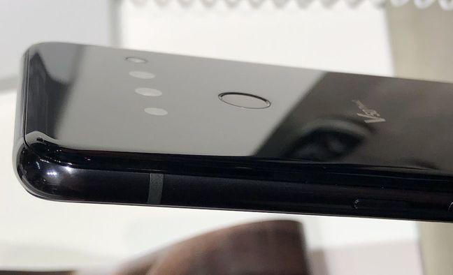 LG V50 5G Side