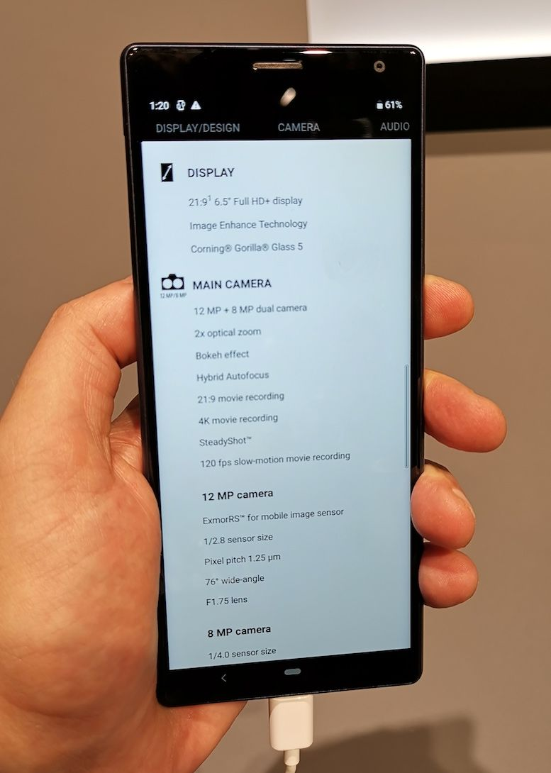 Long phone is loooong: Sony swipes at flagship fatigue with