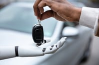 handing over car keys image via shutterstock