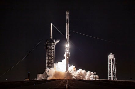 SpaceX Demo-1 Launch (credit: SpaceX)