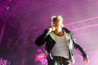 Keith Flint from The Prodigy performing at Warrior's Dance festival on September 19th, 2012 in Belgrade, Serbia