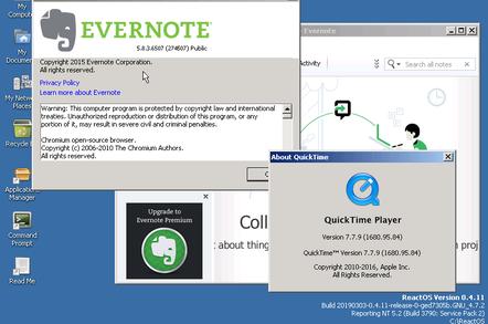 ReactOS 0 4 11 makes great strides towards running Windows apps