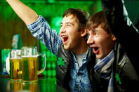 teenagers drinking