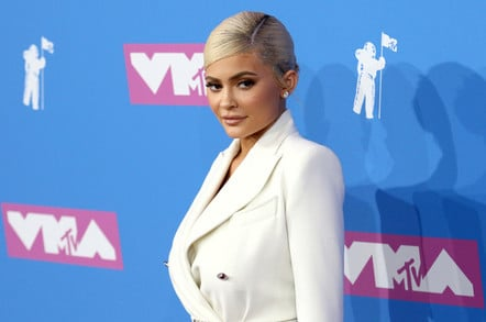 Kylie Jenner attends the MTV Video Music Awards at Radio City Music Hall on August 20, 2018, in New York