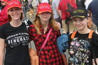 US citizens wearing MAGA hats