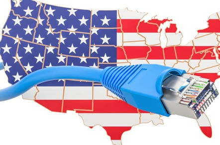 America and the internet