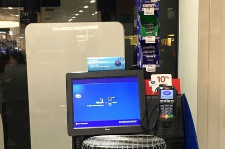 Windows XP POS