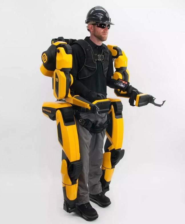 Sarcos Robotics Guardian XO