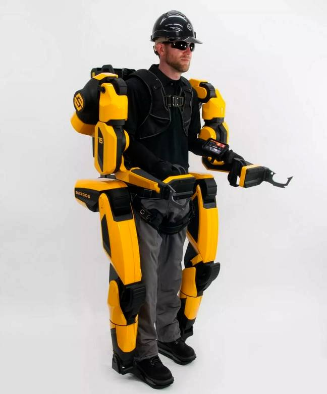 Sarcos Robotics Guardian XO