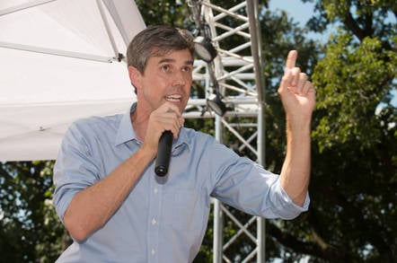 US politician Beto O'Rourke from shutterstock