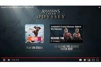 YouTube demo of Stadia integration