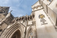 Royal Courts of Justice/Law Courts in london, england (High Court & Court of Appeal of England and Wales)