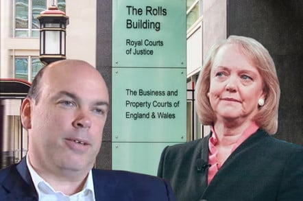 meg whitman and mike lynch (autonomy hp trial)