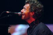 Coldplay's Chris Martin sings in concert in milan, italy