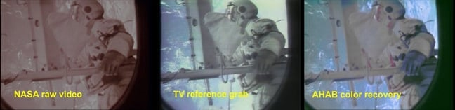 Skylab Restoration Footage