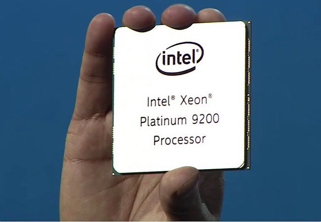 And here's Intel's Epyc response: Up-to 56-core, 4GHz 14nm