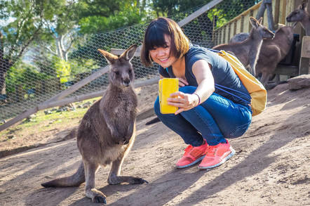 Australia in a frame