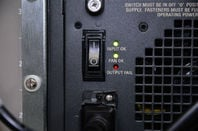 Power switch of server - Image