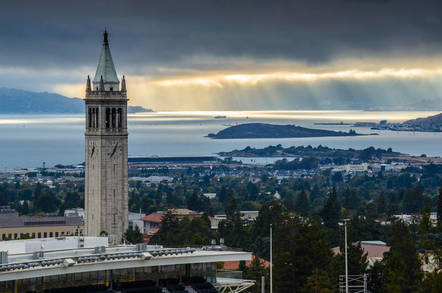 Berkeley, CA skyline from Shutterstock