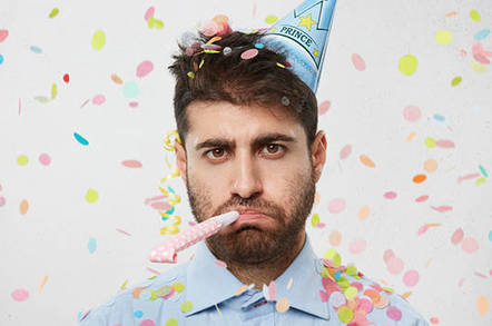 unhappy party
