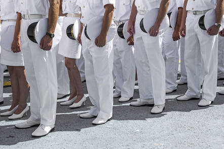 Navy personnel from Shutterstock