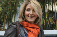 Kaye Adams seen at the ITV studios on May 20, 2015