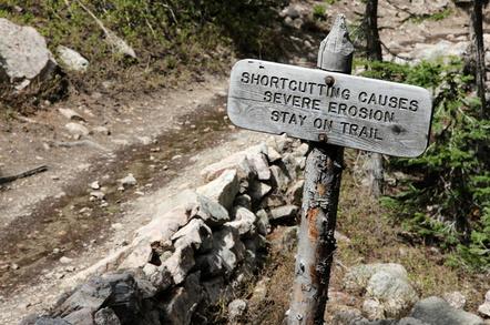Shortcut sign