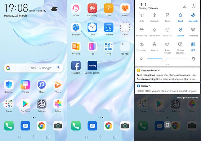 Huawei p30 Screenshots