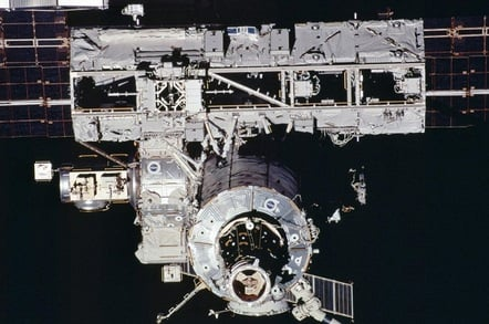ISS S0 Truss (credit: NASA)