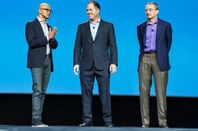 satya nadella michael dell and pat gelsinger