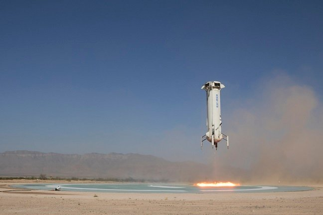 photo of If you're in the 1% and have 10 mins to spare this July, bid for a place on first Blue Origin space tourism launch image