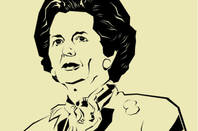 former uk prime minister margaret thatcher