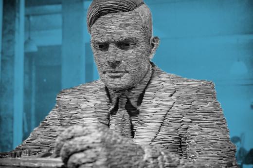 Alan Turing image via Shutterstock