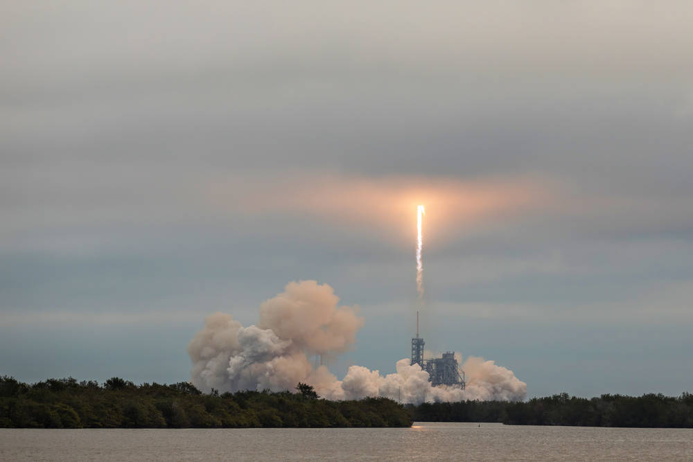 SpaceX Launches First Satellites for Its Internet Service
