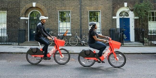 Uber Jump bikes