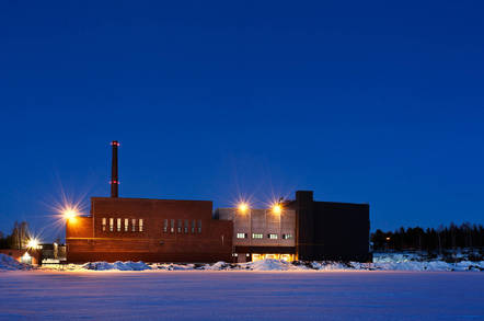 Google data center in Hamina