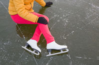 figure skater fallen