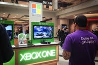 A Microsoft mall kiosk from 2015