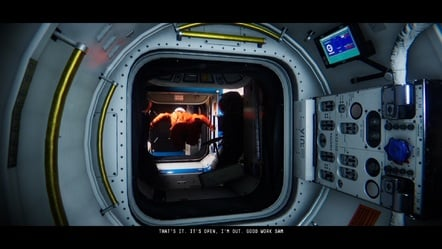 I'm glad I could open the airlock for you