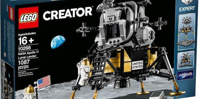 Lego Lunar Lander (pic: Lego)