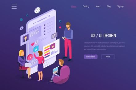 UI/UX illustration