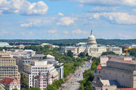 The Washington DC skyline- image from shutterstock