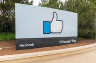 Facebook headquarters from Shutterstock