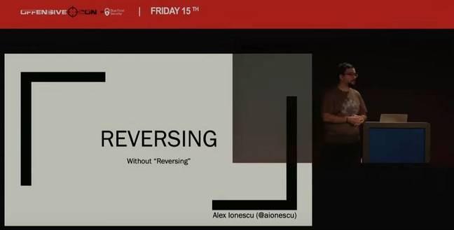Reversing without reversing?