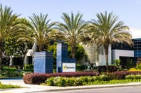 Exterior view of Symantec Corporation headquarters in Silicon Valley, south San Francisco bay area.