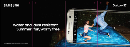 Samsung Galaxy magazine ad