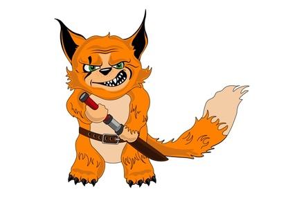 A villainous fox