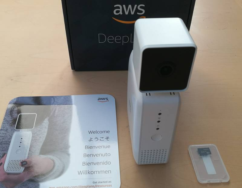 AWS's upgraded DeepLens AI camera zooms in on Europe • The Register