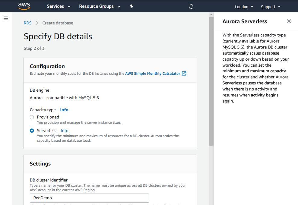 PostgreSQL on Amazon Aurora Serverless goes live  Check the price