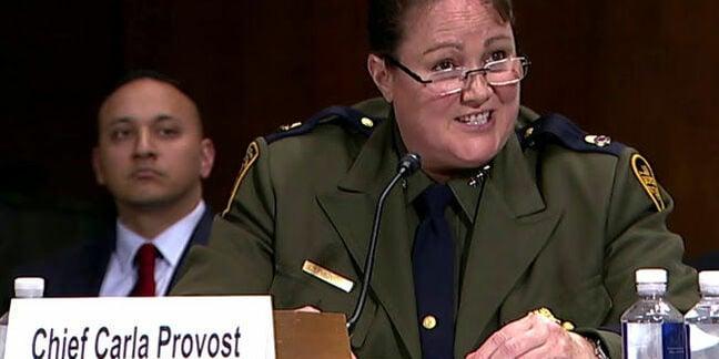 CBP chief Carla Provost